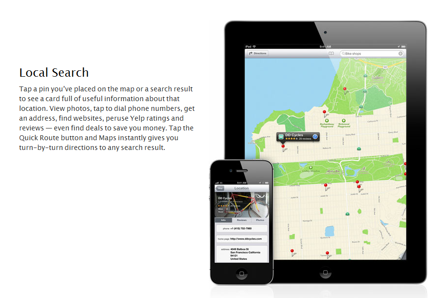 apple maps seo